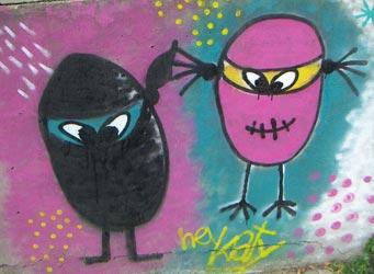 Los huevecitos ninja